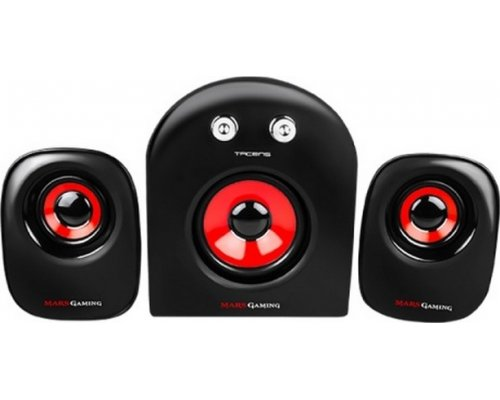 ALTAVOCES 2.1 TACENS MARS GAMING MS2 20W ALIM. USB