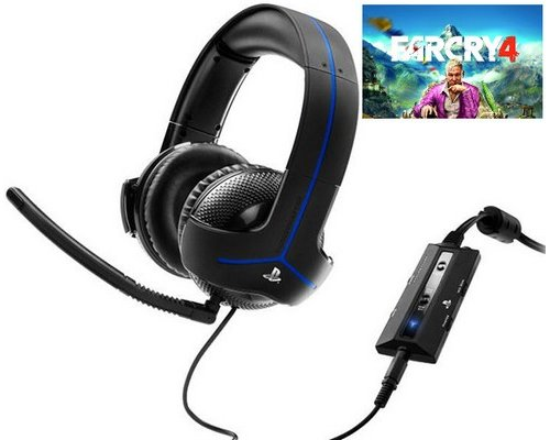AURICULARES + MICRO THRUSTMASTER Y-300P FARCRY 4
