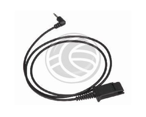"CABLE PLANTRONICS QD A MINIJACK 2.5"" DE 3-PIN"