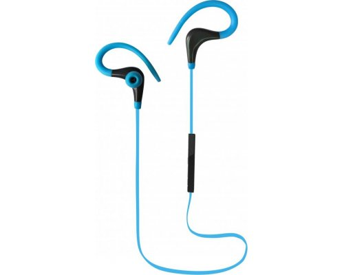 AURICULARES + MICRO BLUETOOTH COOLBOX COOLSPORT BLUE