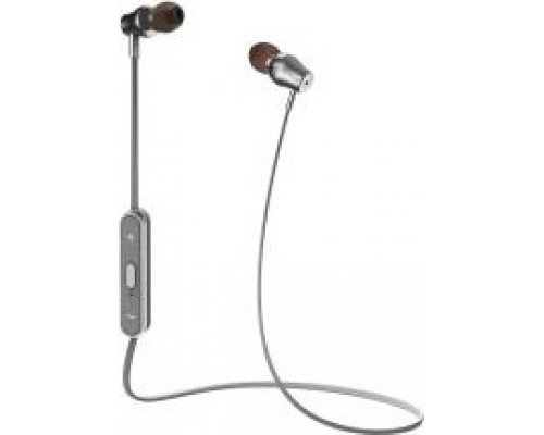 AURICULARES + MICRO CELLY BLUETOOTH ESTÉREO PLATA IN-EAR