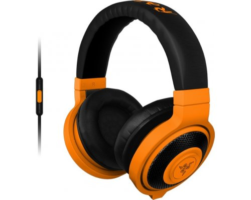 AURICULARES + MICRO RAZER KRAKEN MOBILE ORANGE