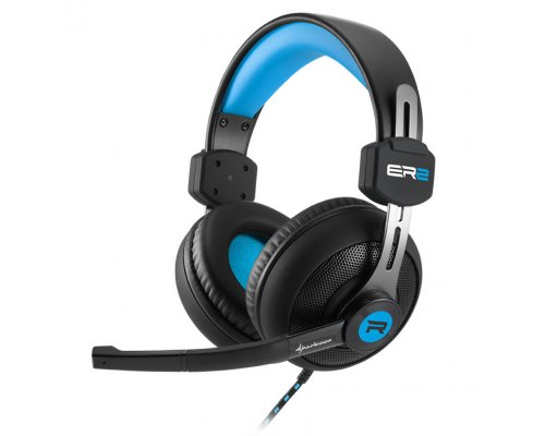 AURICULARES+MICRO SHARKOON GAMING RUSH ER2 AZUL PC/PS4