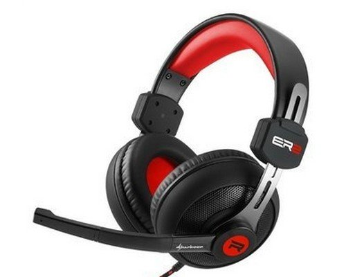 AURICULAR + MICRO SHARKOON RUSH ER2 ROJO