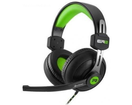 AURICULARES+MICRO SHARKOON GAMING RUSH ER2 VERDE PC/PS4