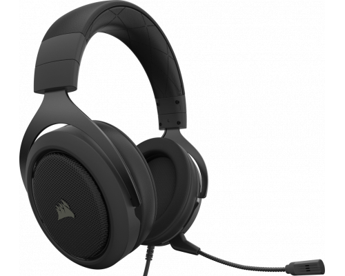 AURICULARES + MICRO CORSAIR GAMING HS50 PRO CARBON