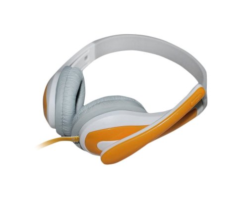 AURICULARES + MICRO HAVIT HV-H2071DY YELLOW