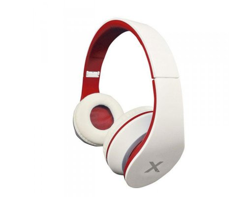 AURICULAR ESTEREO JAZZ WHITE/RED APPROX