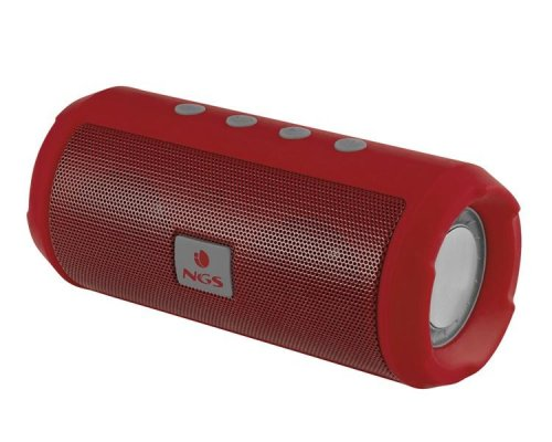 ALTAVOZ BLUETOOTH ROLLER TUMBLER RED NGS