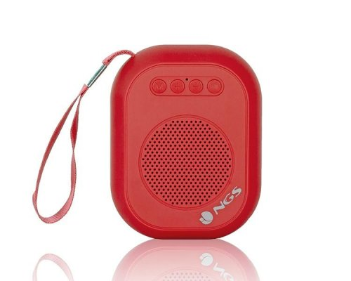 ALTAVOZ BLUETOOTH ROLLER DICE RED NGS