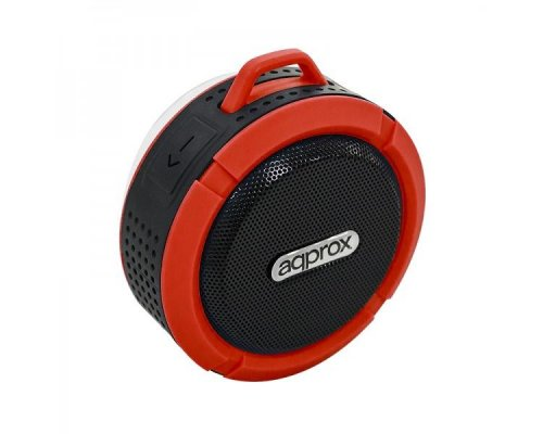 ALTAVOZ BLUETOOTH WATERPROOF BLACK/RED APPROX