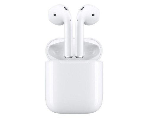 AURICULARES + MICRO BLUETOOTH APPLE AIRPODS V2