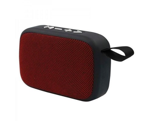ALTAVOZ BLUETOOTH 3W BLACK/RED APPROX