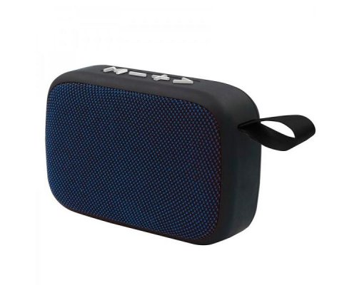 ALTAVOZ BLUETOOTH 3W BLACK/BLUE APPROX