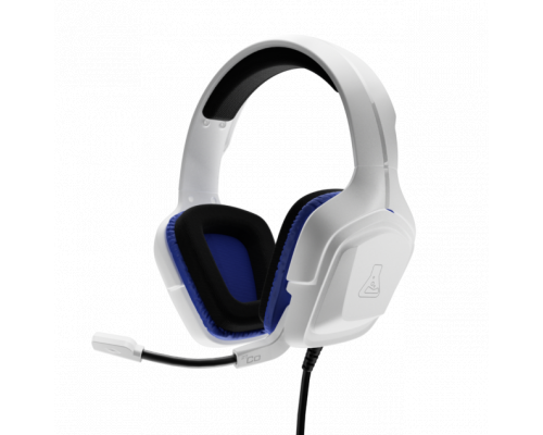 AURICULARES + MICRO THE G-LAB GAMING KORP COBALT BLANCO PS4