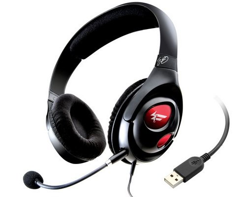 AURICULARES + MICRO CREATIVE HS-1000 FATAL1TY GAMING