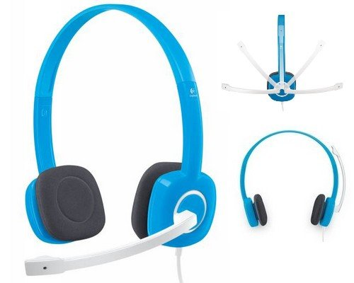 AURICULARES + MICRO LOGITECH H150 BLUEBERRY