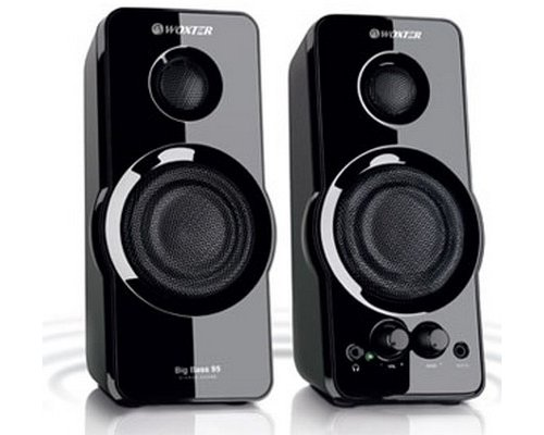 ALTAVOCES 2.0 WOXTER BIG BASS 95 PIANO 20W