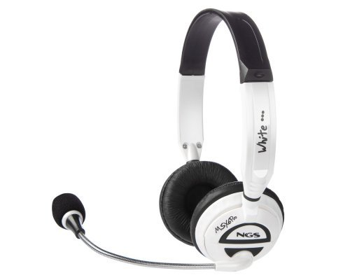 AURICULARES + MICRO NGS MSX6 PRO WHITE