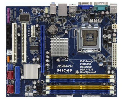 PLACA BASE s775 ASROCK G41C-GS VGA mATX