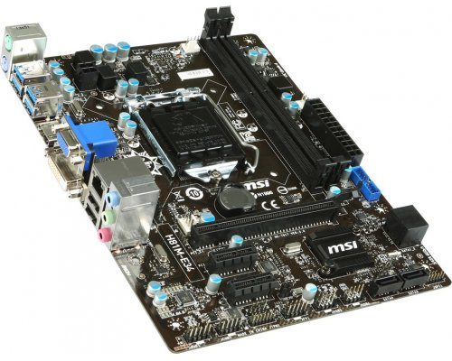 PLACA BASE s1150 MSI H81M-E34 mATX