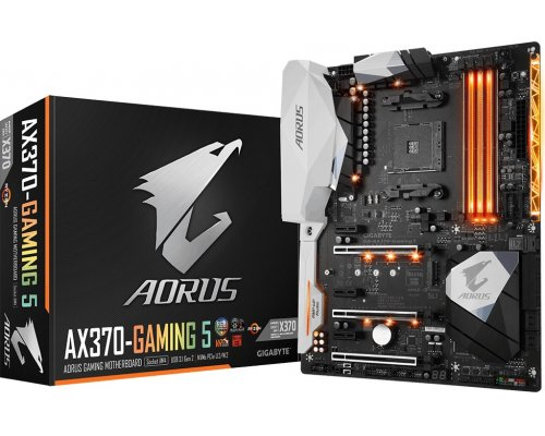 PLACA BASE AM4 GIGABYTE AORUS AX370-GAMING 5