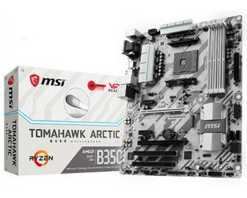 PLACA BASE AM4 MSI B350 TOMAHAWK ARCTIC ATX