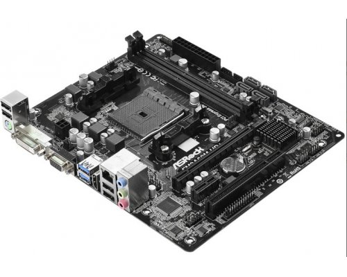 PLACA BASE FM2+ ASROCK FM2A68M-HD+ mATX