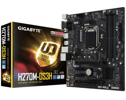 PLACA BASE s1151 GIGABYTE H270M-DS3H mATX