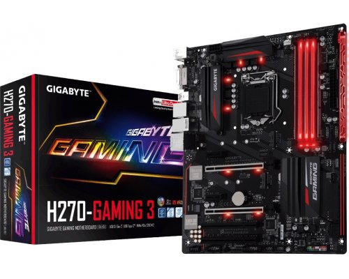 PLACA BASE s1151 GIGABYTE H270-GAMING 3