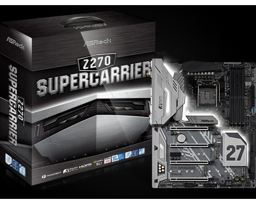 PLACA BASE s1151 ASROCK Z270 SUPERCARRIER