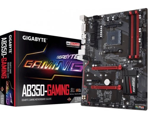 PLACA BASE AM4 GIGABYTE AB350 GAMING