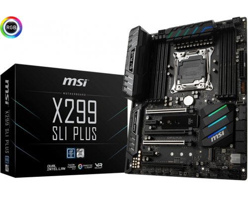 PLACA BASE s2066 MSI X299 SLI PLUS