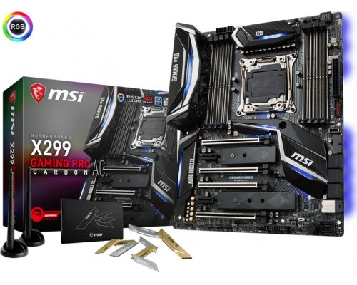 PLACA BASE s2066 MSI X299 GAMING PRO CARBON AC