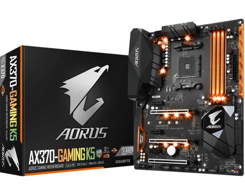 PLACA BASE AM4 GIGABYTE AORUS AX370-GAMING K5