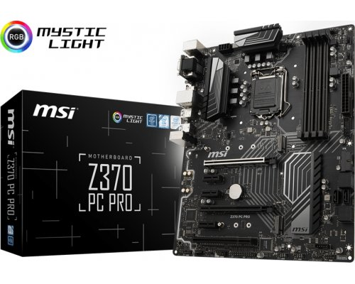 PLACA BASE s1151-V2 MSI Z370 PC PRO