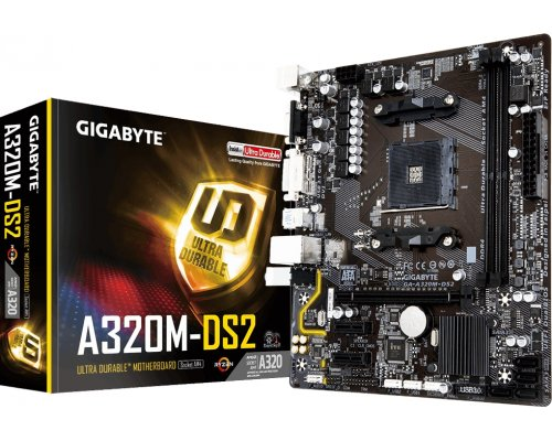 PLACA BASE AM4 GIGABYTE A320M-DS2 mATX
