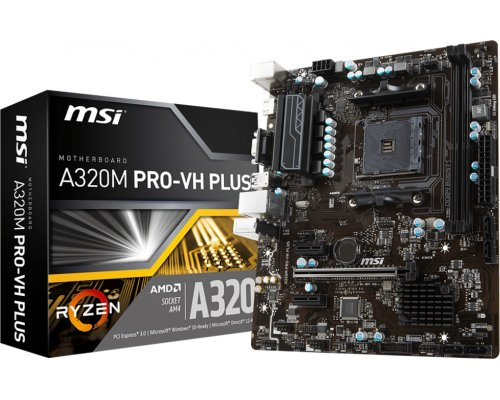 PLACA BASE AM4 MSI A320M PRO-VH PLUS mATX
