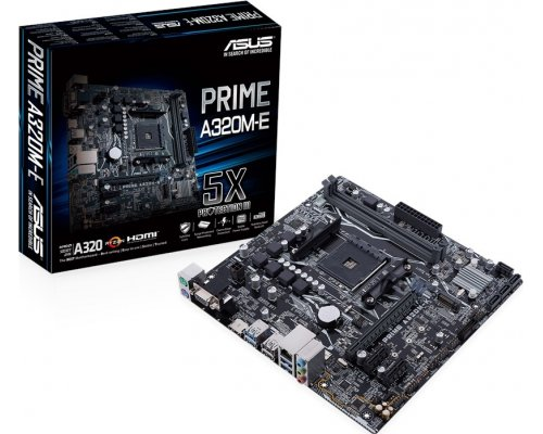 PLACA BASE AM4 ASUS PRIME A320M-E mATX