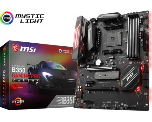 PLACA BASE AM4 MSI B350 GAMING PRO CARBON