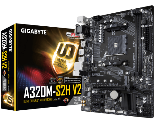 PLACA BASE AM4 GIGABYTE A320M-S2H mATX