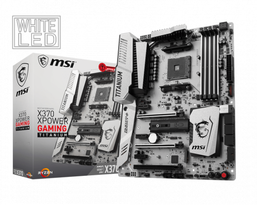 PLACA BASE AM4 MSI X370 XPOWER GAMING TITANIUM