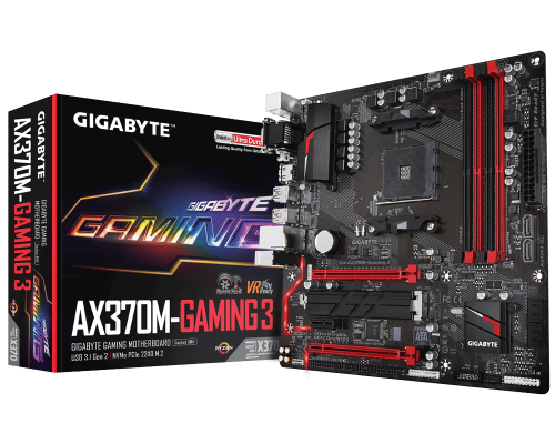 PLACA BASE AM4 GIGABYTE AORUS AX370M-GAMING 3