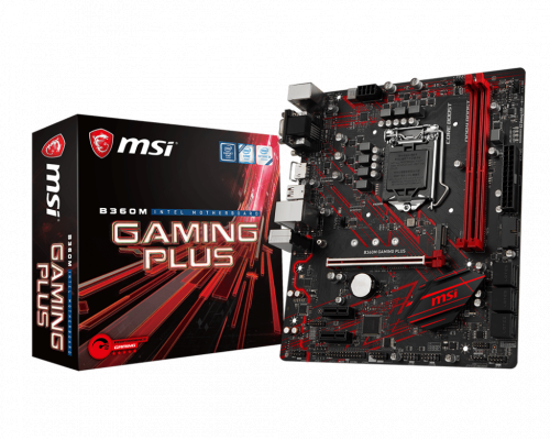 PLACA BASE s1151-V2 MSI B360M GAMING PLUS mATX