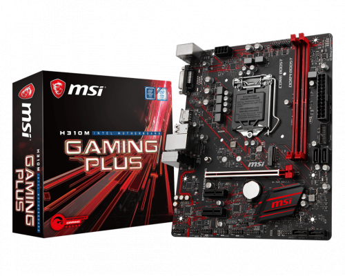 PLACA BASE s1151-V2 MSI H310M GAMING PLUS mATX