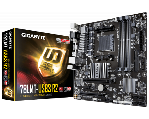 PLACA BASE AM3+ GIGABYTE 78LMT-USB3 R2 mATX