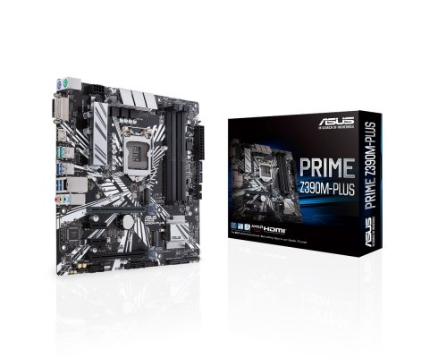 PLACA BASE s1151-V2 ASUS PRIME Z390M-PLUS mATX