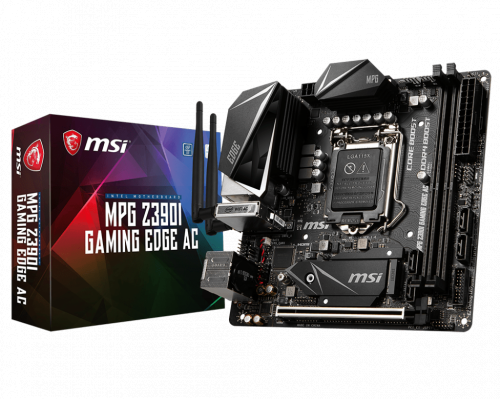 PLACA BASE s1151-V2 MSI MPG Z390I GAMING EDGE AC mITX