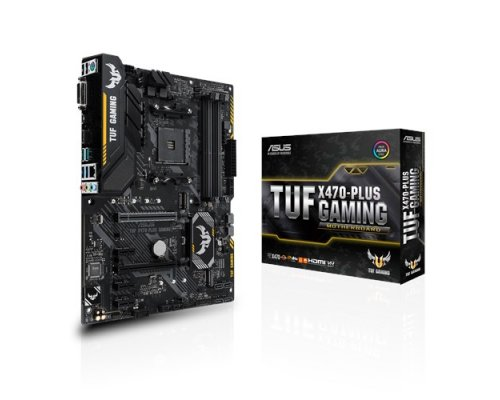 PLACA BASE AM4 ASUS TUF X470-PLUS GAMING