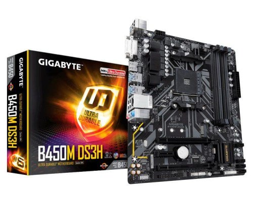 PLACA BASE AM4 GIGABYTE B450M DS3H mATX